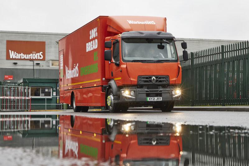 Warburtons Renault Trucks D ZE